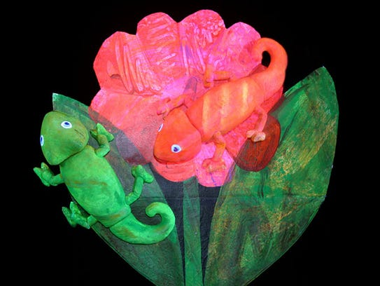 """The Mixed-Up Chameleon"" by Eric Carle."