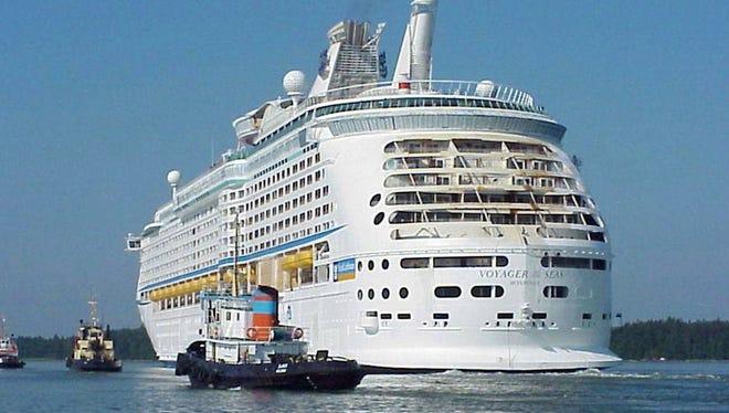 Royal Caribbean International cruise ship.