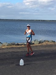 Cinnaminson's Joelle Kenney competed in the Ironman