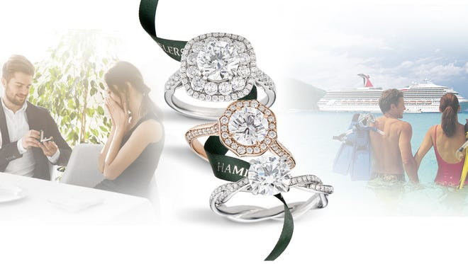 Just in time for the holiday proposal season, Hamilton Jewelers is offering a bridal promotion of a three-night cruise on the Norwegian Sky with the purchase of a $5,000 engagement ring.