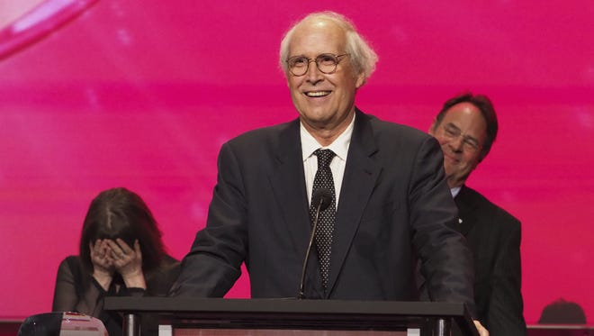Chevy Chase was inducted into the Television Academy Hall of Fame in November.