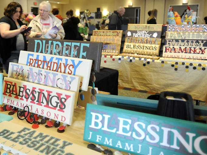 Photos: Spring Fever show for handmade items