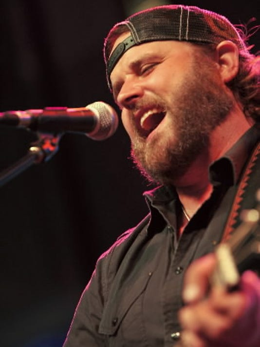 Randy Houser performs at a Toys for Tots benefit tonight at The Field House in Newberry Township. Toys for Tots is just one of many charities Houser supports.