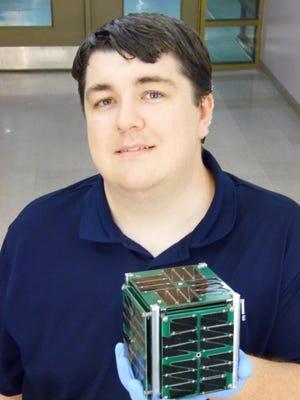 Jeremy Straub is helping to launch the first North Dakota spacecraft.