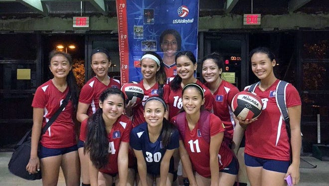 Team Haggan NEX GEN girls' volleyball team from Guam will join teams from Guam and the Philippines as they compete this month at the Guam Youth Games.