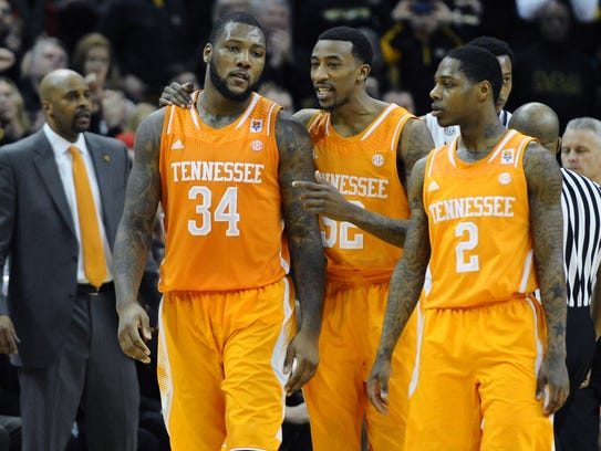 USP NCAA Basketball_ Tennessee at Missouri