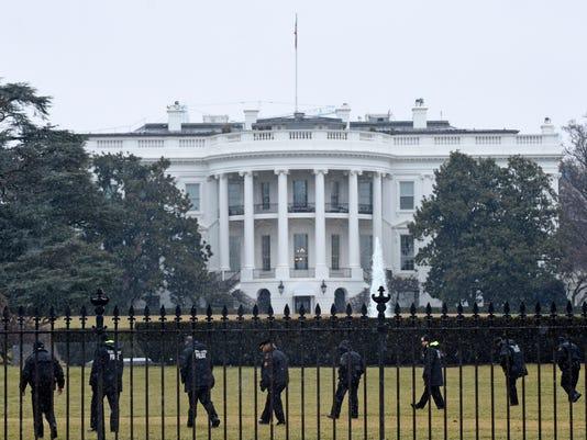 AP SECRET SERVICE DRONES A FILE USA DC