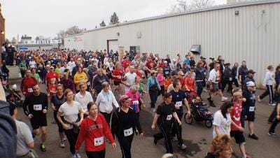 The Bull Falls Brewery Honor Flight 5k has become an early spring tradition for hundreds of runners and walkers.