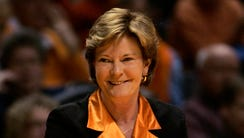 Late Tennessee women's basketball coach Pat Summitt's