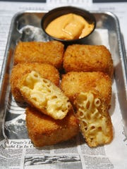 An order of mac and cheese bites at Brielle Ale House