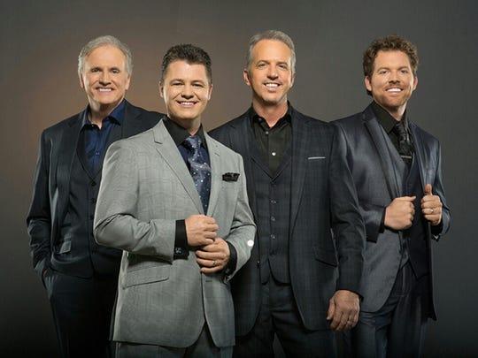 Nationally known Triumphant Quartet will perform gospel music April 20 in Richmond.