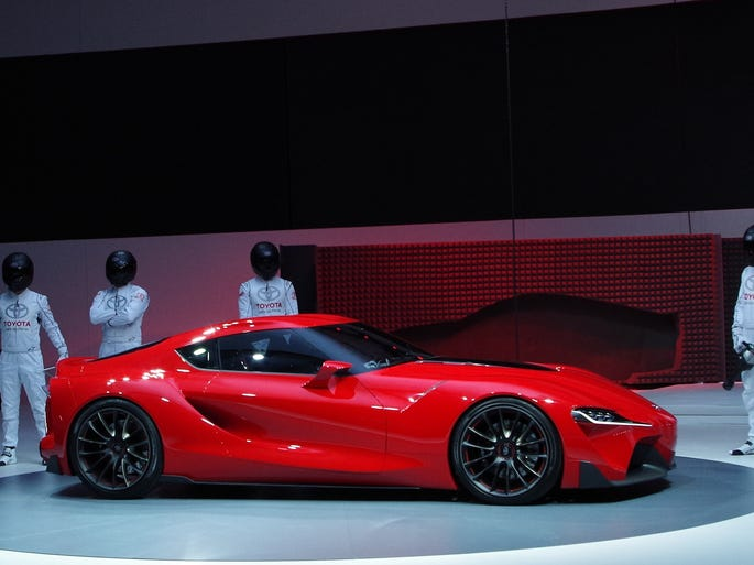 Toyota shows the FT-1 concept