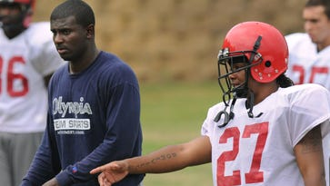Derrick Ansley was a Huntingdon assistant coach for five seasons before becoming a graduate assistant at Alabama in 2010.