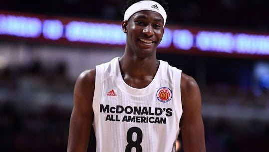 Jaren Jackson Jr. is ranked No. 6 in the final Rivals rankings for the 2017 class.