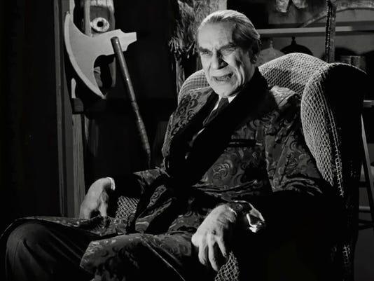 Martin Landau as Bela in Ed Wood