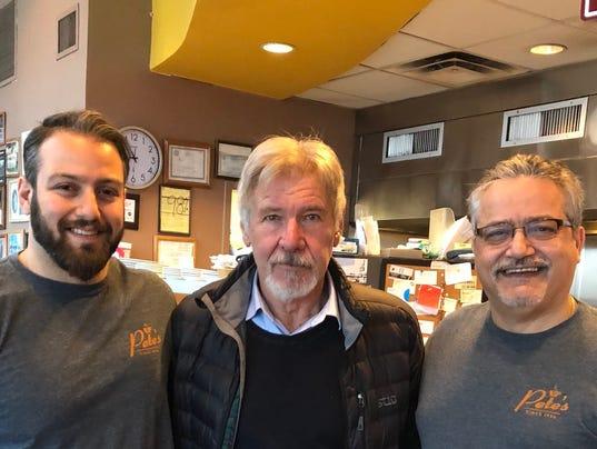 Joey Natour, Harrison Ford, Pete Natour