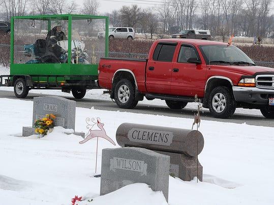 Buried On Harley