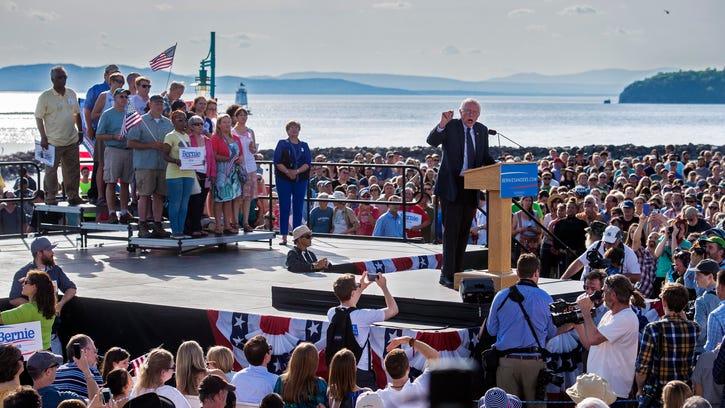 Vermont Sen. Bernie Sanders announces he is a candidate
