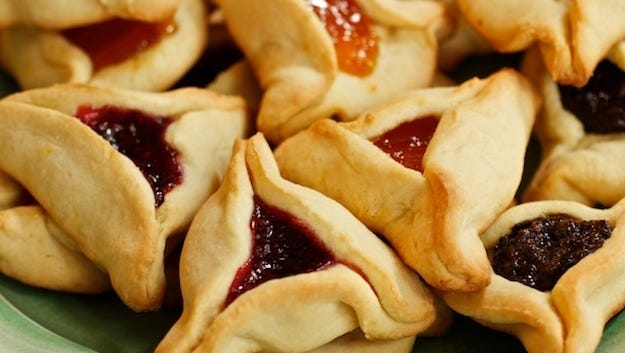 It's time to make plans and order Hamantaschen cookies from Temple Beth Sholom for the temple's annual fundraiser.