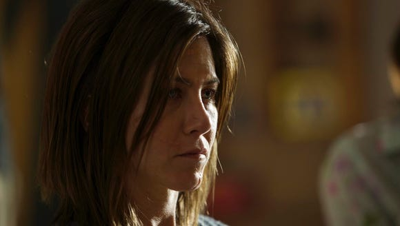 """Jennifer Aniston, in """"Cake,"""" was nominated for a Golden"""