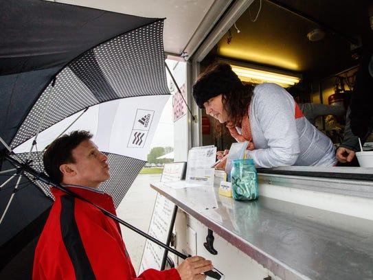 Food Trucks At Festival At Waukesha Expo