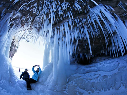 AP Ice Caves Photo Gallery