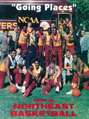 The 1985-86 NLU Indians swept the Southland Conference regular season and tournament championships en route to the NCAA tournament.