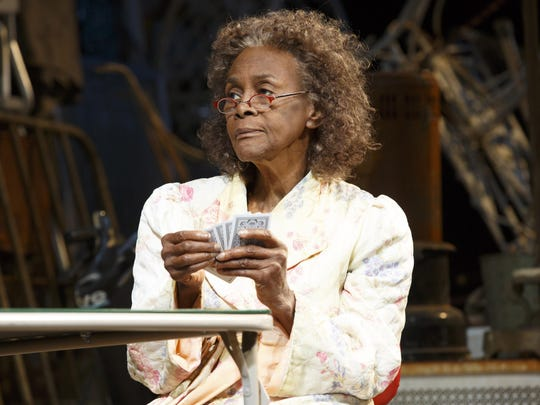 """Cicely Tyson's character has a lucky streak in """"The Gin Game."""""""