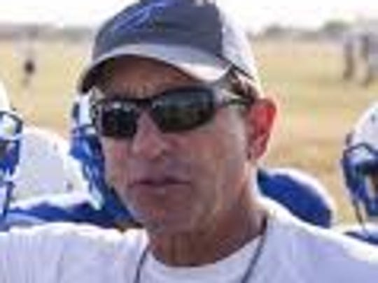 Lake View High School head football coach Doug Kuhlmann