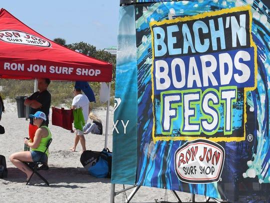 The annual Ron Jon Beach 'N Boards Surf Fest runs from