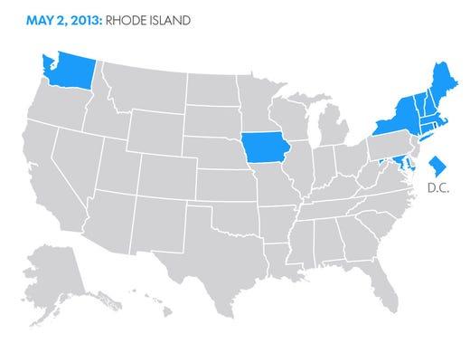same sex marriage california video new holland in Rhode Island