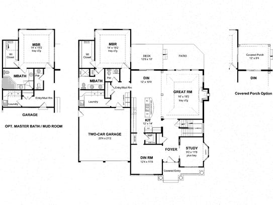 House of the week choose your master suite configuration for Www eplans houseoftheweek