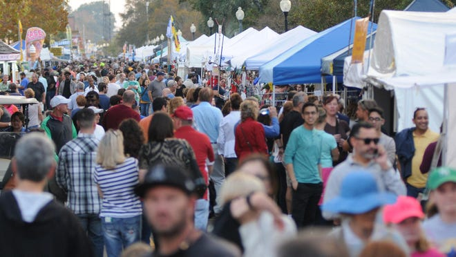Wilmington Riverfest, seen here in 2016, typically attracts thousands of people.