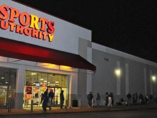 Sports Authority stores in Melbourne, on Merritt Island
