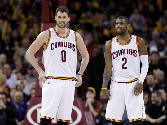 Kevin Love, Kyrie Irving