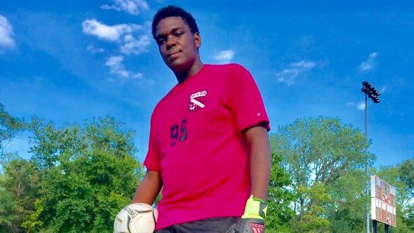 Spring Valley goalie Anderson Italien is the lohud player of the week.
