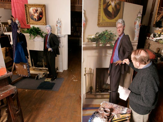 Bill Clinton Portrait May Include Lewinsky Reference