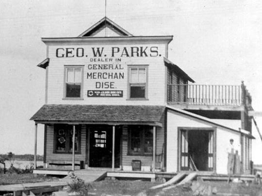 The building the Stuart Heritage Museum calls home was the George W. Parks General Merchandise Store in 1901.