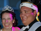 Garrett Miner and Katie Murphy are all smiles after being crowned King and Queen at Merritt Island High School Prom held Saturday at the Holiday Inn Space Coast Convention Center in Cocoa.