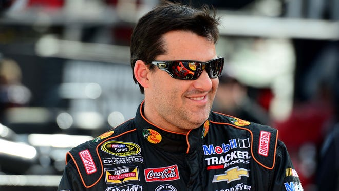 Tony Stewart will be one of the NASCAR drivers testing at IMS next week