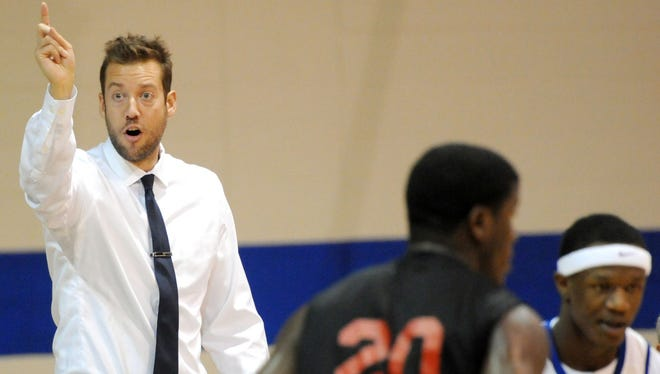 Eastern Florida men's basketball coach Jeremy Shulman has his Titans ready for the state tournament.