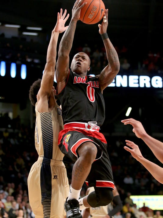 NCAA Basketball: Louisville at Georgia Tech