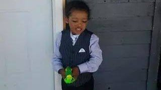 Tayvier Granderson was struck and killed by a vehicle on Friday while trick-or-treating.