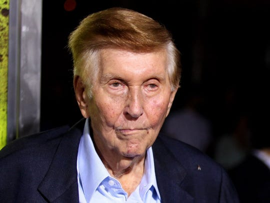 Sumner Redstone, shown here in a 2016 photo, is now