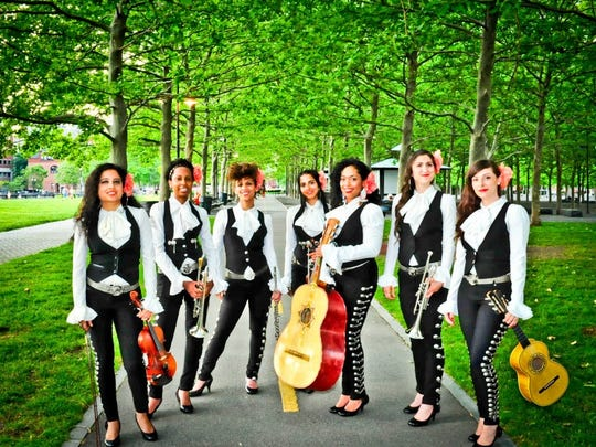 New York's all-female mariachi band, Mariachi Flor de Toloache includes a rotating cast of 13 members featuring all of the traditional mariachi instruments – violin, trumpet, bass and five-string guitar. They perform July 13 as part of Artown.