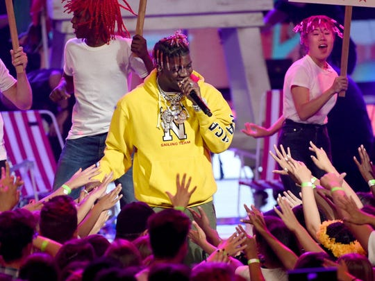 Lil Yachty performs at the Rave Wednesday.