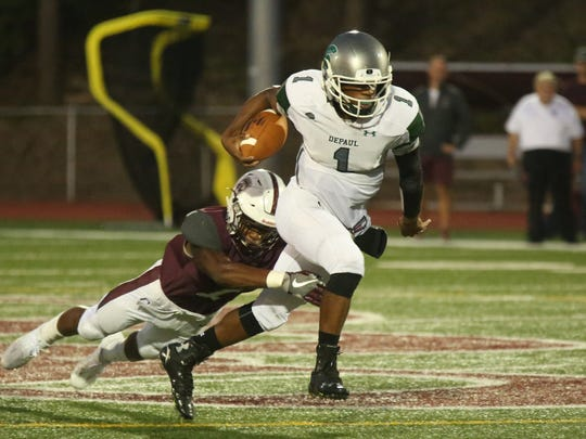 DePaul QB Taquan Roberson has committed to Penn State.