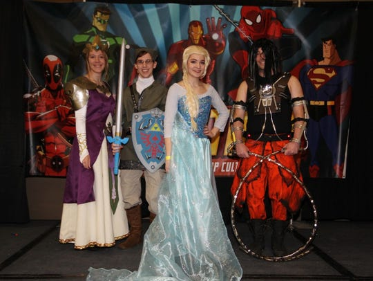 The League of Enchantment is a cosplay group with a
