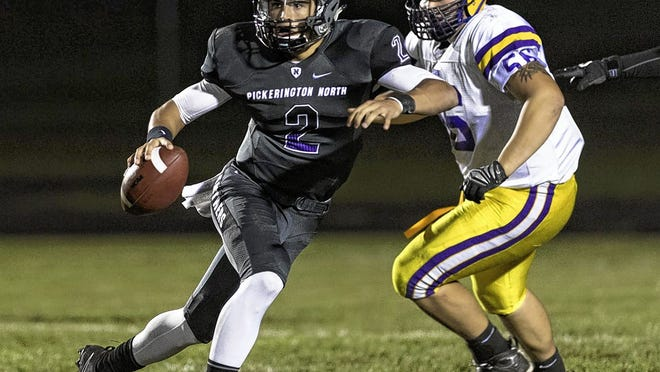 Jimmy Weirick, a 2018 Pickerington North graduate who excelled as a dual-threat quarterback, passed for more than 5,000 yards and 60 touchdowns while also rushing for 19 scores in his final two seasons with the Panthers. Weirick is currently playing at Wofford, which advanced to the FCS playoffs last season. John Hulkenberg/ThisWeekJOHN HULKENBERG/THISWEEK