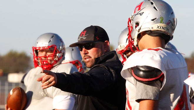 Racine Horlick football coach Brian Fletcher has guided the Rebels to their first undefeated regular season in 41 years.